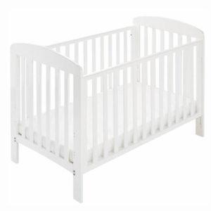 Babynor Asfrid tremmeseng hvid