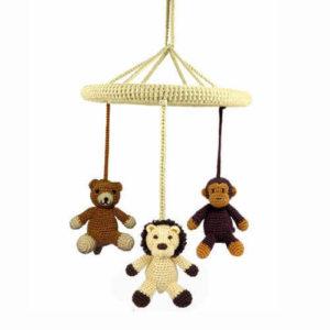 NatureZOO uro med bjørn-løve-abe
