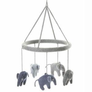 Smallstuff uro med strikkede elefanter