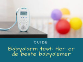 Babyalarm test - Her de bedste babyalamer
