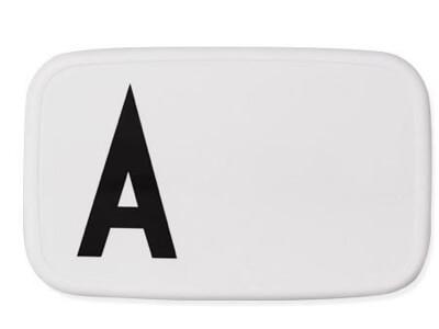 Design letters madkasse med bogstaver