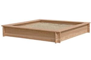 Nordic Play firkantet sandkasse