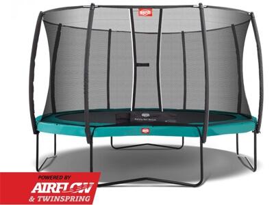 Berg Champion 430 deluxe - Prisvindende bestseller stor trampolin