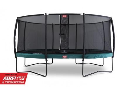 Berg Grand Champion 350 - Stor trampolin i oval form til hele familien