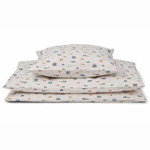 Liewood baby sengetøj cars