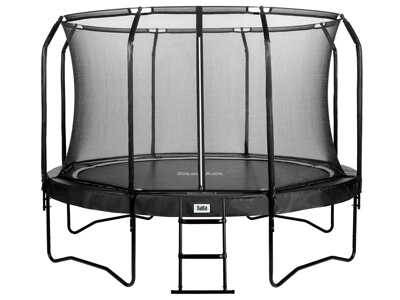 Salta Premium black 396 cm - Hele familiens havetrampolin