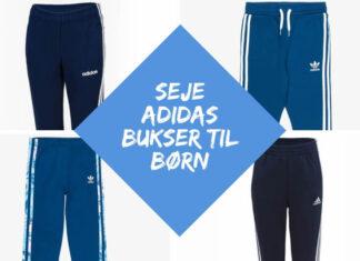 blå adidas bukser til børn