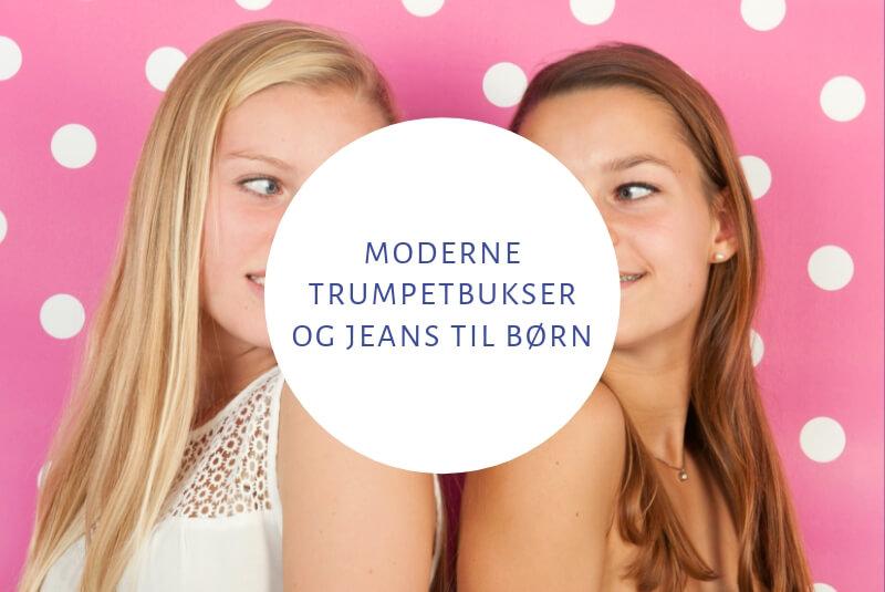 trumpetbukser jeans til børn