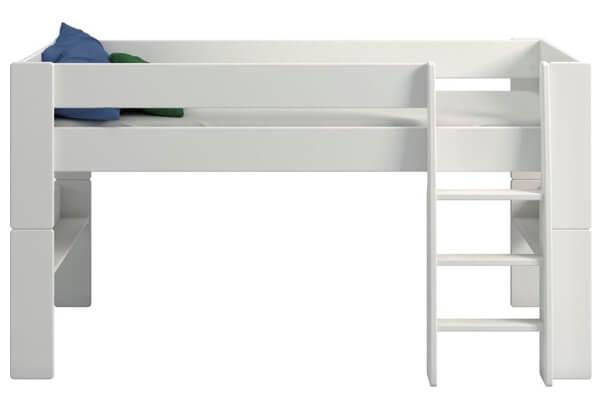 Magne halvhøj seng med aftagelige ben