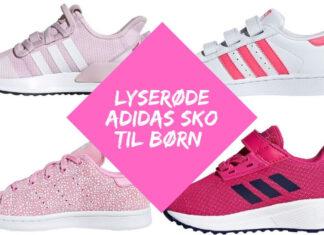 lyserøde adidas sko til børn