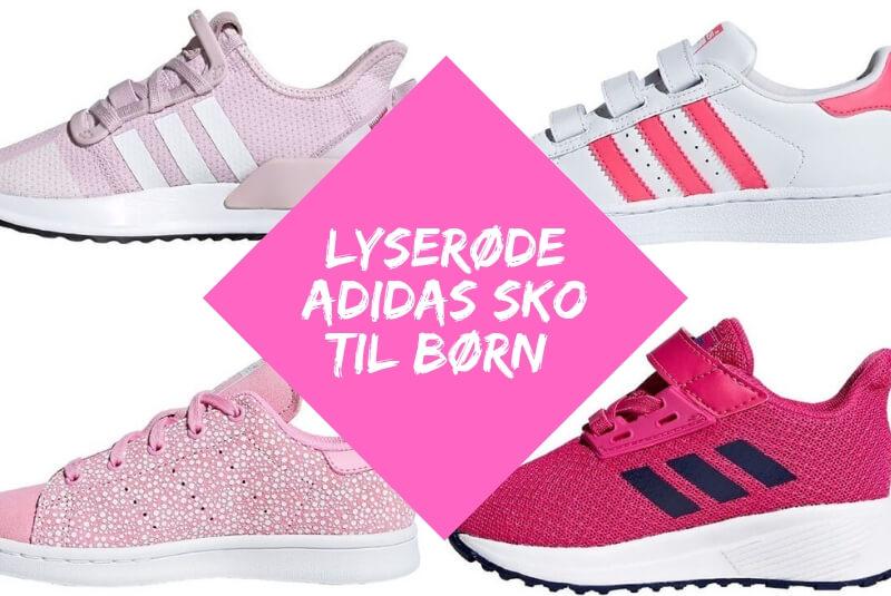 3495bdec 5 lyserøde adidas sko til børn • Vildmedbørn