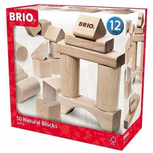 Brio byggeklodser naturtræ
