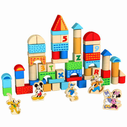 Disney Junior Wooden blocks