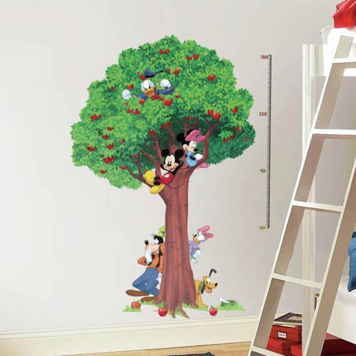 Disney wallsticker højdemåler