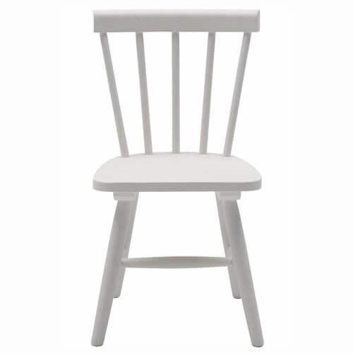 Magne stol hvid børne stol i træ