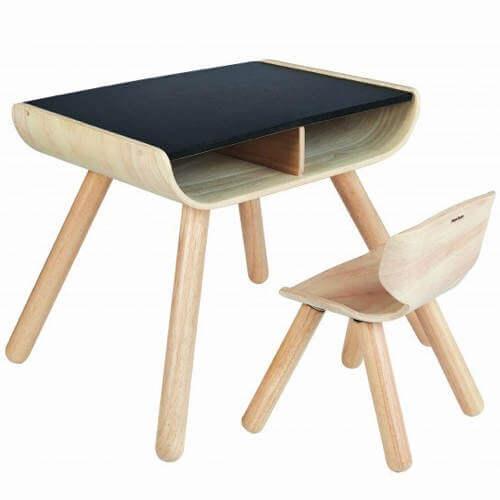 Plantoys børne bord og stol