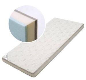 Bekids delux junior madras med memory air skum i str. 70 x 160