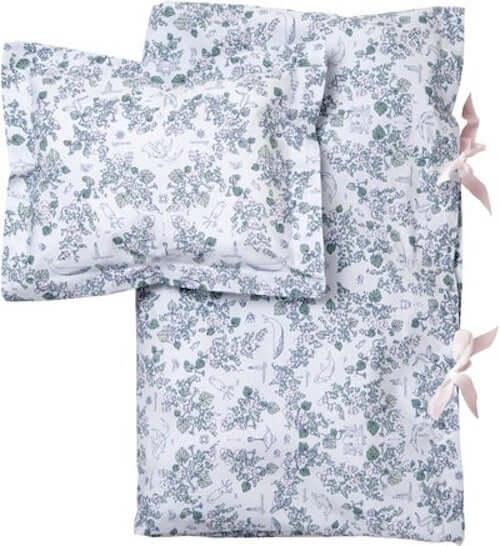 Garbo & Frends sengetøj Mares i lysegrå og 100% oeko-tex