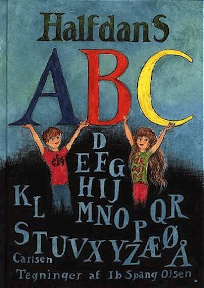 Halfdans ABC - Klassisk børnebog der har underholdt i over 40 år