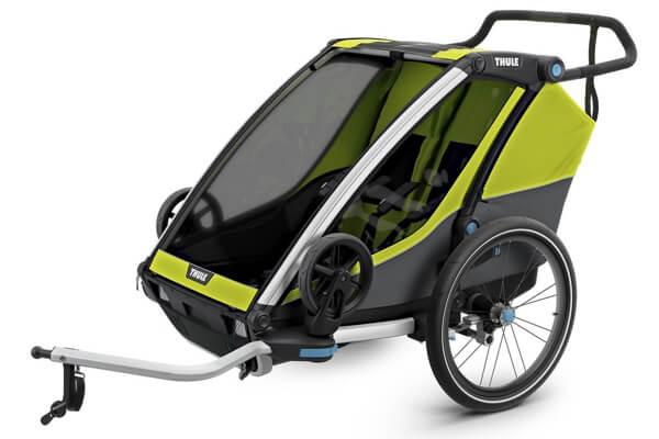 Thule Chariot Cab 2 - Cykelanhængeren der kan bruges til løb, gåtur og cykling