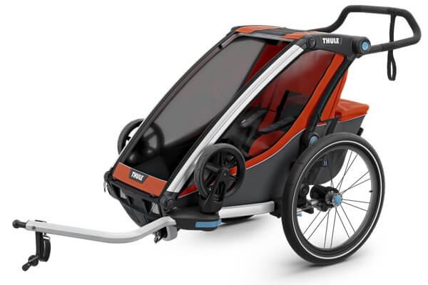 Thule Chariot Cross 1 - Bedste cykelanhænger til børn (Testvinder 2019 DK)