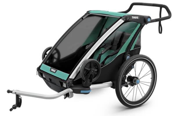 Thule Chariot Lite 2 - Bedste cykelanhænger til børn (Testvinder 2019 UK)
