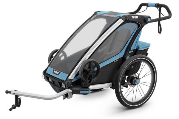 Thule Chariot Sport cykelvogn - Cykelanhængeren til de aktive og plads til 1 barn