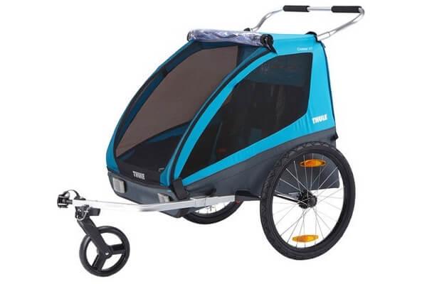 Thule Coaster XT - Prisvenlig og sikker cykelanhænger med plads til 2 børn