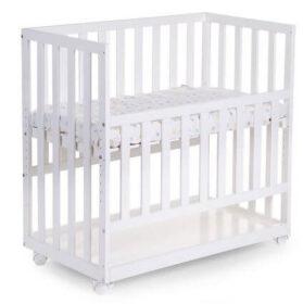 Childhome bedside crib - Funktionel med både hjul og justerbar bund