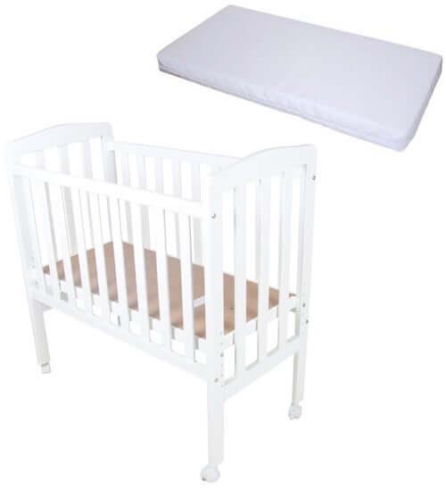 JLY Bedside Crib - Flot seng i skandinavisk design og justerbar bund