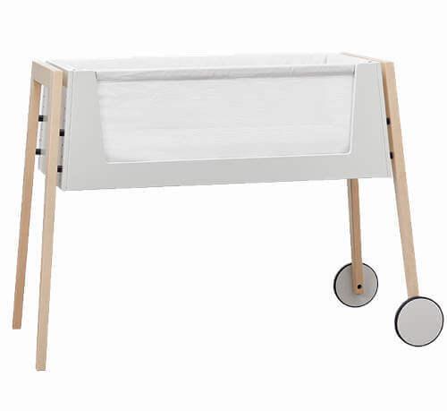 Linea by leander bedside crib - Populær vugge med justerbar højde