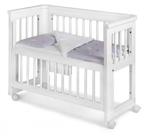 Troll Sun bedside Crib - Et af de bedste bedside cribs i prisklassen