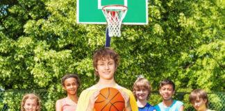 Basketballkurv til børn