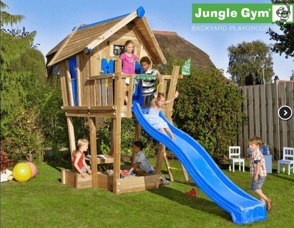 Jungle Gym legehus Crazy Playhouse