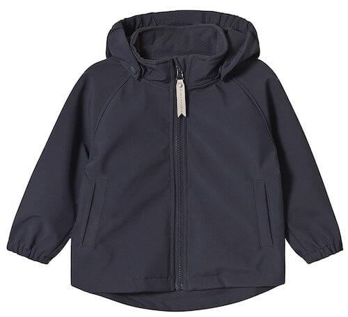 Mini A ture Aden softshell jakke