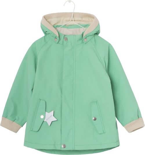 Wally Katydid Green forårsjakke til børn