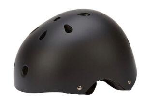 On Gear skate style hjelm - Klassisk matsort hjelm med 11 ventilationshuller