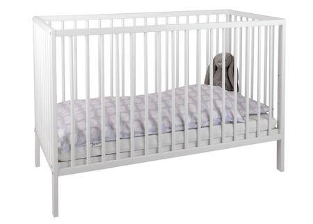 Bedkids Alba hvid seng med bæreevne op til 15 kg