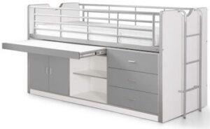 Kiddy Vipack luksus seng med opbevaringsplads og udtræksplade