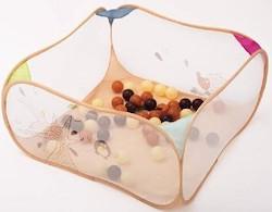 Ludi Pop-up kravlegård inkl. 50 stk plastik bolde