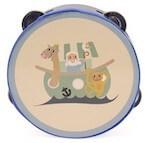 Magni tamburin med sød motiv til rytmer og sjov