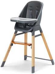 JLY 2-in-1 højstol til børn med bakke og polstret sæde